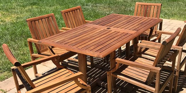 Outdoor Wood Restoration